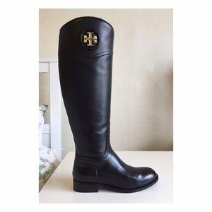 Tory Burch Shoes - Tory Burch Ashlynn Riding Boots Black Size 7
