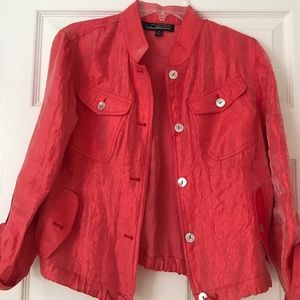 Coral jacket size small