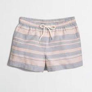 J. Crew Factory Pants - J.Crew factory linen-cotton drawstring shorts
