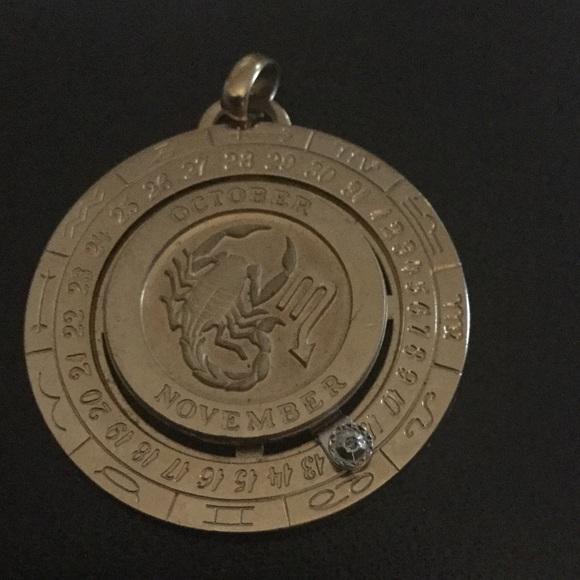 Pierre cardin jewelry pierre cardin zodiac vintage pendant scorpio pierre cardin zodiac vintage pendant scorpio mozeypictures Image collections
