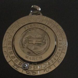 Pierre Cardin Jewelry - Pierre Cardin zodiac pendant pisces