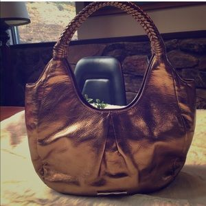 Elaine Turner Handbags - Like new Elaine turner Bronze leather handbag