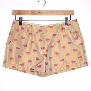 Max Studio Pants - Max Studio limited edition heart printed shorts