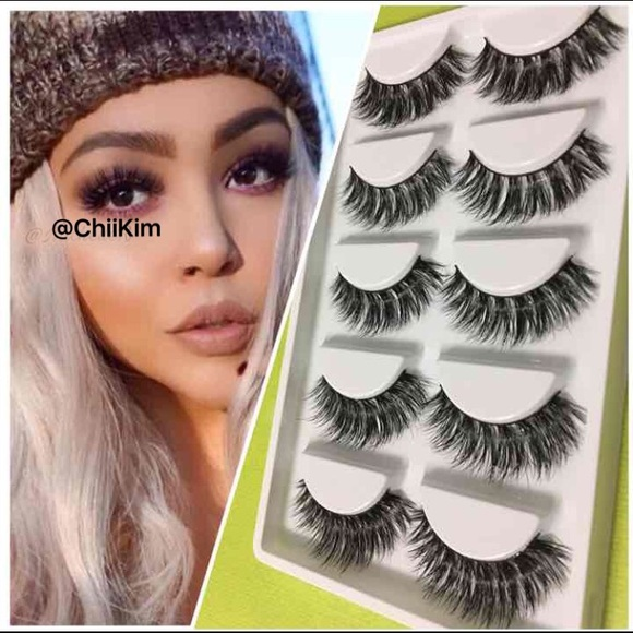 Makeup Mink Lashes Mink Eyelashes Fur New Lilly 5 Pairs Poshmark