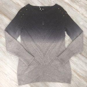 Buffalo David Bitton Sweaters - ☃️NWT Buffalo Ombré Sweater w/ Gold Shoulder Studs