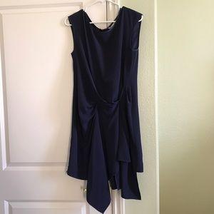 Rachel Roy Dresses & Skirts - Racheal Roy Dark Blue Chiffon Dress