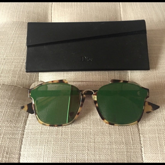d4e5311f876b Christian Dior Accessories - Christian Dior abstract sunglasses w receipt