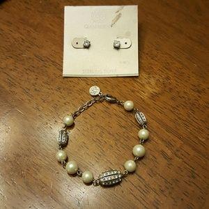 Giani Bernini Jewelry - Beautiful duo, earrings and bracelet!