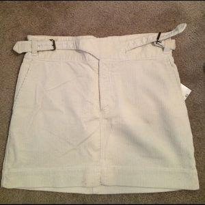 Ralph Lauren Black Label Dresses & Skirts - ️Ralph Lauren white cord skirt