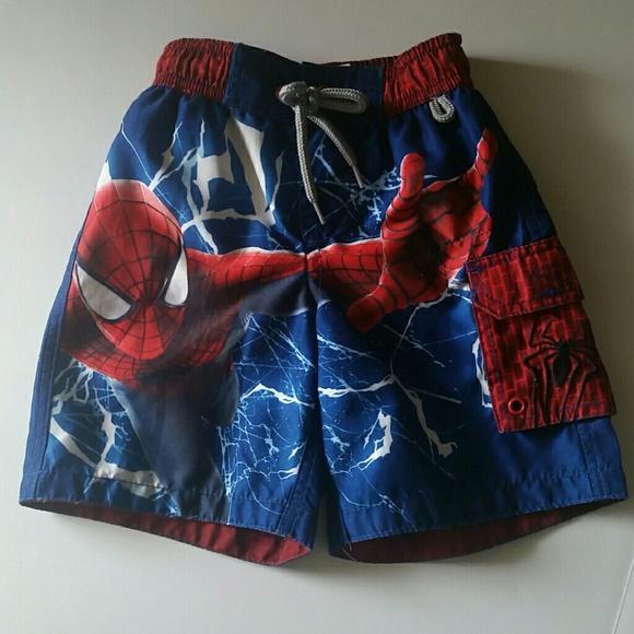 348ab70c2a Disney Swim | Sale Spiderman Trunks Store Euc | Poshmark