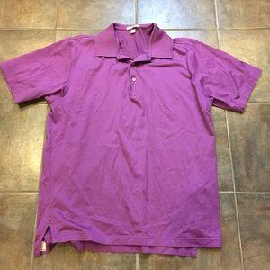 Peter Millar Other - PETER MILLAR Men's Purple Short Sleeve Polo Shirt