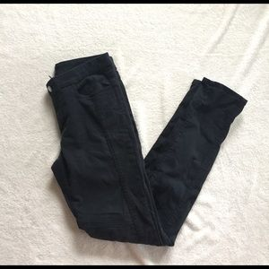 Divided Pants - black jeggings H&M size 8