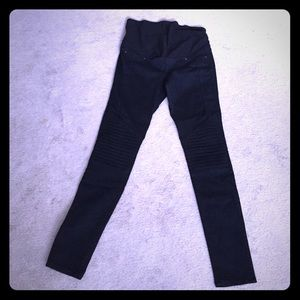 H&M Denim - H&M maternity black skinny jeans