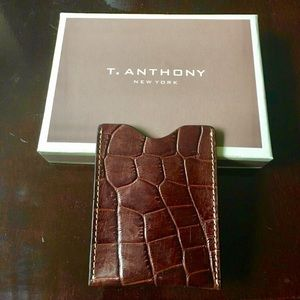 T. Anthony  Other - Authentic New 100% alligator magnetic wallet