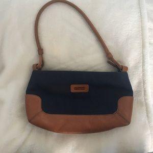 ellington Handbags - Ellington purse. Leather and fabric