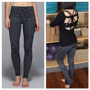 Lululemon Wunder Under Pant *Roll Down AnimalSwirl