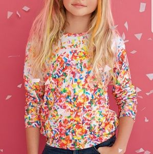 Ten Sixty Sherman Other - 275)Sprinkle graphic sweatshirt/top check size NWT