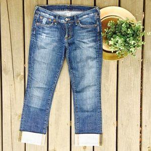 Lucky Brand Denim - LUCKY BRAND Mia Jean Distressed Straight Leg Jeans