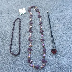 Jewelry - Bundle of jewelry price includes all.