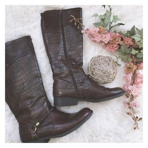 Life Stride Shoes - Price ⬇️ Beautiful Dark Brown Size 9 Riding Boots