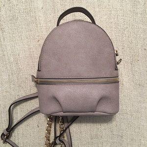 Handbags - 🍍Host Pick! 🍍Vegan Pebbled Leather Mini Backpack