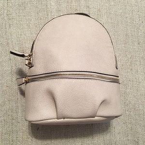 Handbags - Vegan Pebbled Leather Mini Backpack