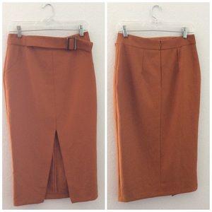 NWOT ASOS Midi Skirt