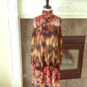 Jean Paul Gaultier Dresses & Skirts - Jean Paul Gaultier- Turtleneck Tulle Trapeze Dress