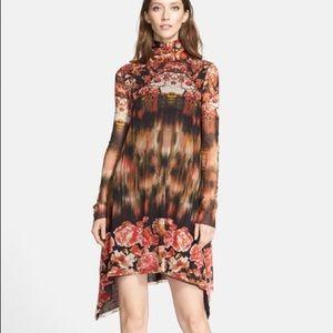 Jean Paul Gaultier Dresses & Skirts - Jean Paul Gaultier Turtleneck Tulle Trapeze Dress