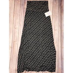 LuLaRoe Dresses & Skirts - New LulaRoe Maxi skirt black and white