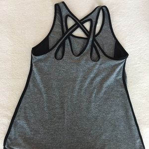 Threads 4 Thought Tops - THREADS 4 THOUGHT Grey Terra Crossback Tank
