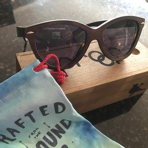 Brand New!  Wooden Proof Sunglasses