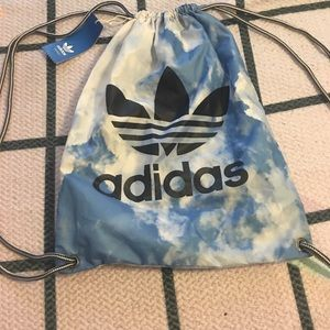 Adidas Handbags - ADIDAS CLOUDY DRAWSTRING BACKPACK