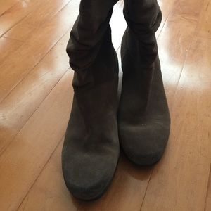 Arturo Chiang Shoes - Arturo Chang Suede slouch boots