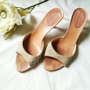 Authentic Burberry Slip On Sandals