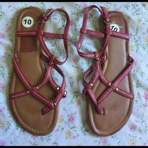 Report Shoes - Report Leather Sandals