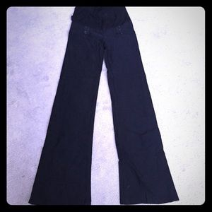 Pants - Maternity black pants