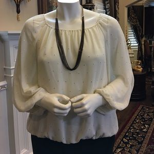 Tops - Beautiful top with rhinestones