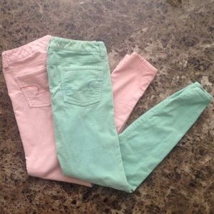 American Eagle Outfitters Pants - 2 Pairs of Corduroy Jeggings