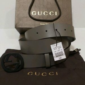 Gucci Other - Gucci Mens Small GG Buckle Belt NWT Sizes Avail.