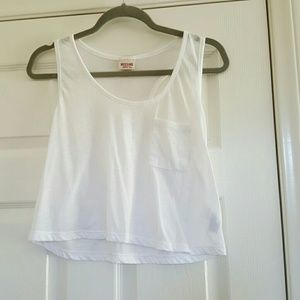 3 for $15 White crop top