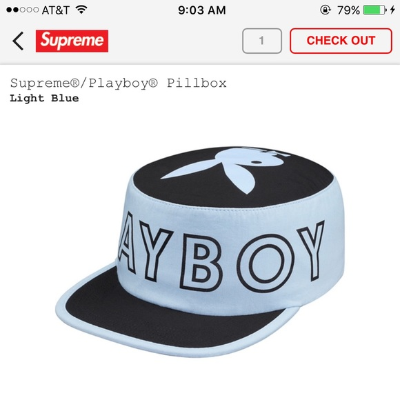ac93ff84c Supreme Accessories | Playboy Pillbox Hat | Poshmark