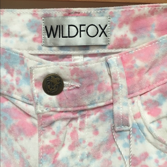 Wildfox Jeans - Wildfox Marriane Heartbeat velour jeans Sz 29