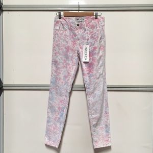Wildfox Marriane Heartbeat velour jeans Sz 29