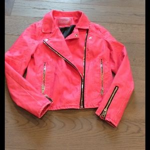 Blank NYC Other - Pink faux leather jacket