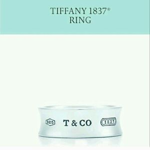 Tiffany & Co. Jewelry - ❗️SALE❗️Tiffany & Co wide band sterlin silver ring