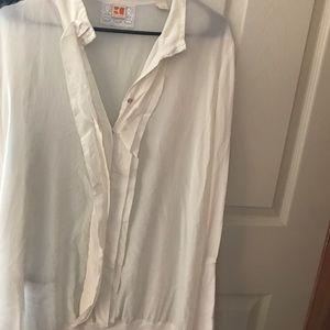 BOSS ORANGE Tops - Boss orange silk blouse