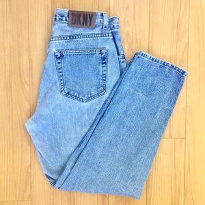 Vintage DKNY high waisted mom jeans