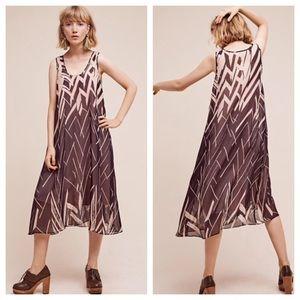 {Anthropologie} Serengeti Midi Dress