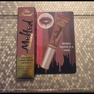 Too Faced Other - NWT Too Faced melted chocolate lipstick